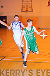 St Brendan's Jason Quirke and Neptune's Daniel Thompson.