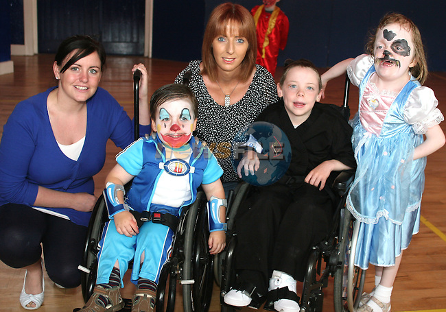 Valerie Collins, Zane O'Hoisten, Bernie Kavanagh, Jason Collins and Hannah Donnelly at the Irish Wheelchair Association Summer Camp...Photo NEWSFILE/Jenny Matthews.(Photo credit should read Jenny Matthews/NEWSFILE)....This Picture has been sent you under the condtions enclosed by:.Newsfile Ltd..The Studio,.Millmount Abbey,.Drogheda,.Co Meath..Ireland..Tel: +353(0)41-9871240.Fax: +353(0)41-9871260.GSM: +353(0)86-2500958.email: pictures@newsfile.ie.www.newsfile.ie.FTP: 193.120.102.198.