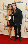 UNIVERSAL CITY, CA. - May 31: Actor Cam Gigandet (R) and Dominique Geisendorff arrive at the 2009 MTV Movie Awards held at the Gibson Amphitheatre on May 31, 2009 in Universal City, California.