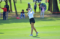 PATTAYA, THAILAND - FEBRUARY 22: Michelle Wie of USA 2nd shot on the 5th fairway during the second round of the Honda LPGA Thailand 2019 at Siam Country Club Pattaya (Old Course), Pattaya, Thailand on February 22, 2019.<br /> .<br /> .<br /> .<br /> (Photo by: Naratip Golf Srisupab/SEALs Sports Images)<br /> .<br /> Any image use must include a mandatory credit line adjacent to the content which should read: Naratip Golf Srisupab/SEALs Sports Images