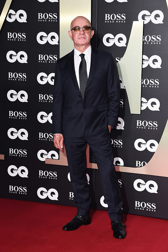Bernie Taupin<br /> arriving for the GQ Men of the Year Awards 2019 in association with Hugo Boss at the Tate Modern, London<br /> <br /> ©Ash Knotek  D3518 03/09/2019