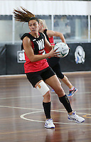 02.09.2016 Silver Ferns Grace Rasmussen during training in Melbourne Australia. Mandatory Photo Credit ©Michael Bradley.