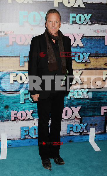 WEST HOLLYWOOD, CA - JULY 23: Kiefer Sutherland arrives at the FOX All-Star Party on July 23, 2012 in West Hollywood, California. / NortePhoto.com<br />