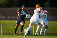 Sky Blue FC midfielder Nayeli Rangel (7). Sky Blue FC defeated the Washington Spirit 1-0 during a National Women's Soccer League (NWSL) match at Yurcak Field in Piscataway, NJ, on July 6, 2013.