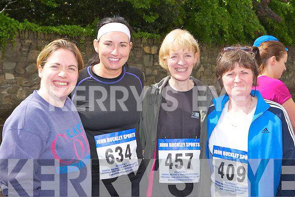 Rosie Healy, Joan Bowler, Mai O'Shea and Mary B O'Shea Glenflesk who ran at the Killarney Lions club mini marathon in Killarney on Sunday....