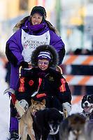 2009 Anchorage ceremonial start Iditarod