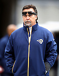 St. Louis Rams head Coach Jeff Fisher before their game against the Seattle Seahawks at CenturyLink Field in Seattle, Washington on  December 30, 2012.   © 2012. Jim Bryant Photo. All Rights Reserved.