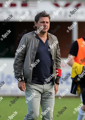 2013-08-12 / Voetbal / seizoen 2013-2014 / KFC Lille - Sint-Job / Dirk Van Rillaer<br /><br />Foto: Mpics.be