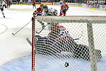 04/30/11--Portland's Craig Cunningham scores on Spokane's goalie James Reid in the third period. The Winterhawks' defeated the Chiefs 3-2 in Game 5 of the Western Conference Championship at the Rose Garden...Photo by Jaime Valdez........................................