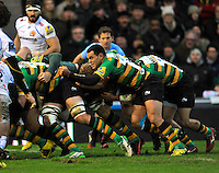 Northampton Saints v Exeter Chiefs, Aviva Premiership. January 1, 2016