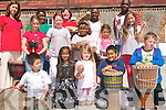 Celebrations of Africa Day in Tralee included a performance of traditional music by members of Tralee International Resource Centre at Tralee Educate Together National School. .Back L-R Galina Bart, Nogugu Mafu, Josephine Sheehan, Zola Nanizaya and Desire Busingye .Middle L-R Daniella Senyonova, Emma Molloy, Nimotalai Kareem, Lena Connelly and Julia Swigon. .Front L-R Brendan Timothy, Jana Mikova, Caoimhe Hussey, Denis Gyngo and Jeremiah Carmody.