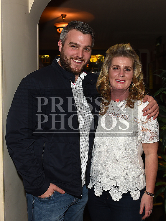J.P. Gregory and Shirley Collins at the launch of Newtown Blues Strictly Come Dancing in Garvey's. Photo:Colin Bell/pressphotos.ie