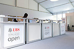 Media center at UBS Hong Kong Open golf tournament at the Fanling golf course on 25 October 2015 in Hong Kong, China. Photo by Xaume Olleros / Power Sport Images