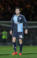 Danny Rowe of Wycombe Wanderers during the Sky Bet League 2 match between Wycombe Wanderers and Oxford United at Adams Park, High Wycombe, England on 19 December 2015. Photo by Andy Rowland.