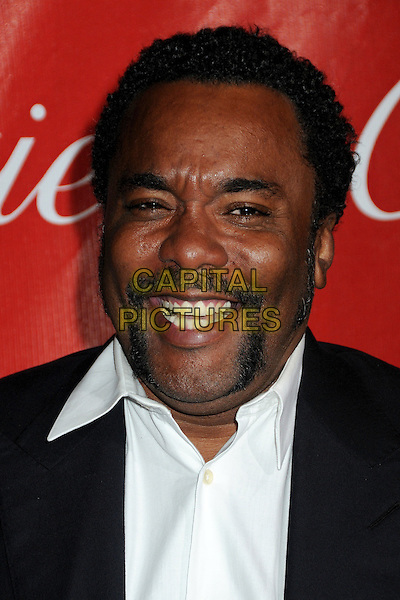 LEE DANIELS .Palm Springs International Film Festival Awards Gala 2010 held at the Palm Springs Convention Center, Palm Springs, California, USA, .5th January 2010..portrait headshot black handlebar moustache mustache  facial hair white shirt smiling funny .CAP/ADM/BP.©Byron Purvis/AdMedia/Capital Pictures.