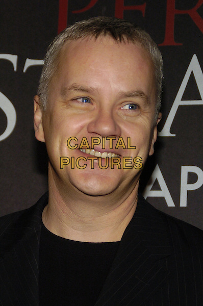 "TIM ROBBINS.Columbia Pictures and Revolution Studios premiere of ""Perfect Stranger"" at Ziegfield Theater, New York, New York, USA..April 10th, 2007.headshot portrait .CAP/ADM/BL.©Bill Lyons/AdMedia/Capital Pictures *** Local Caption ***"
