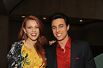 """One Life To Live's Amber Skye Noyes (new new on show) & Robert Gorrie """"Matthew Buchanan"""" and ATWT """"Nate"""" at New York Premiere Event for beloved series """"One Life To Live"""" on April 23, 2013 at NYU Skirball, New York City, New York - as The Online Network (TOLN) - OLTL - AMC begin airing on April 29, 2013 on Hulu and Hulu Plus.  (Photo by Sue Coflin/Max Photos)"""