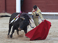 San Isidro Bullfight Festival at Las Ventas bull round in Madrid on May 15, 2019.<br /> Diego Urdiales