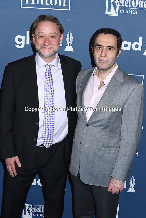 Darren Dean and attends the 27th Annual GLAAD Media Awards on May 14, 2016 at the Waldorf Astoria Hotel in New York City, New York, USA.<br /> <br /> photo by Robin Platzer/Twin Images<br />  <br /> phone number 212-935-0770