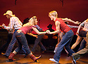 Footloose with Lorna Want,Derek Hough. Opens at the Novello Theatre on 18/4/06. CREDIT Geraint Lewis