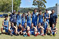 Touch &ndash; CSW Junior Tournament at Fraser Park, Lower Hutt, New Zealand on Thursday 16 November.<br /> Photo by Masanori Udagawa. <br /> www.photowellington.photoshelter.com