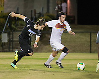 The Winthrop University Eagles beat the UNC Asheville Bulldogs 4-0 to clinch a spot in the Big South Championship tournament.  Pol Sole (10), Paul Egle (19)
