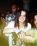 3-22-2010...Lindsay Lohan drinking and partying at the Rosevelt hotel watching Snoop Dog perform on stage. ..Abilityfilms@yahoo.com.805-427-3519.www.AbilityFilms.com