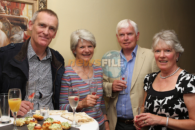Reg and Nina Fletcher with David and Maeve Holly at the Boyne Valley Country Club Appreciation Night....Photo NEWSFILE/Jenny Matthews.