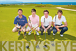 GRAND HOTEL CUP: Taking part in the Grand Hotel Cup at Tralee Golf Club on Sunday l-r: Anton O'Callaghan, Shane Lehane, Ian O'Doherty and Tommy Carmody.