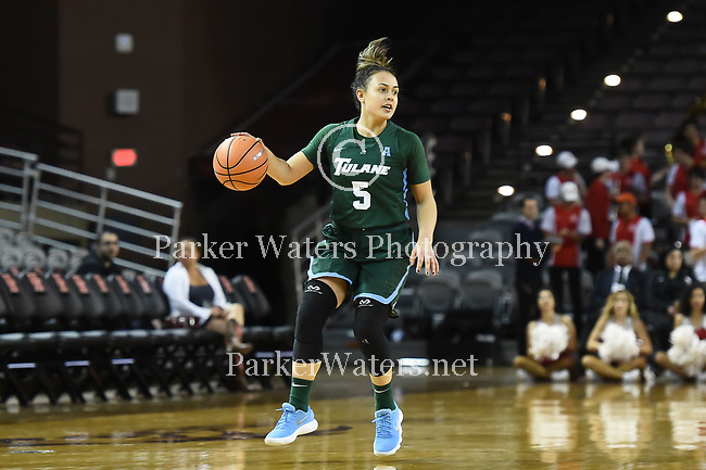 Tulane Women's Basketball falls at Houston, 72-48.