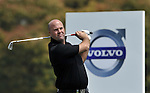 SUZHOU, CHINA - APRIL 16:  Gary Lockerbie of England tees off on the 17th hole during the Round Two of the Volvo China Open on April 16, 2010 in Suzhou, China. Photo by Victor Fraile / The Power of Sport Images