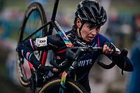 Nikki Brammeier (GBR/MudIIIta Cycling)<br /> <br /> women's race<br /> Soudal Jaarmarktcross Niel 2018 (BEL)