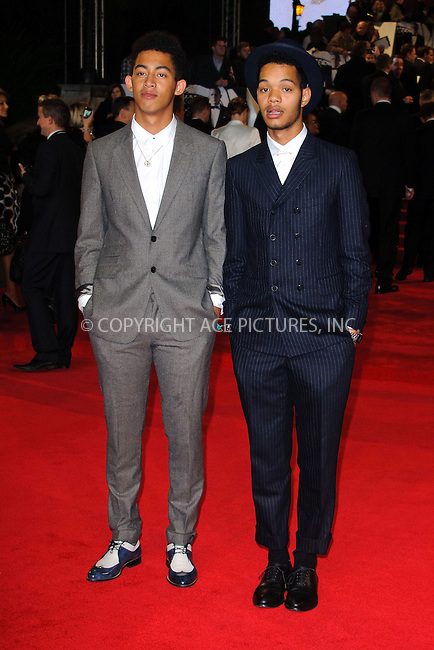WWW.ACEPIXS.COM....US Sales Only....October 23 2012, London....Rizzle Kicksl at the World premiere of 'Skyfall' held at the Royal Albert Hall on October 23 2012 in London....By Line: Famous/ACE Pictures......ACE Pictures, Inc...tel: 646 769 0430..Email: info@acepixs.com..www.acepixs.com