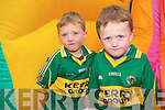 Timothy and Kieran O'Donoghue at the Kilgarvan Agricultural show last Sunday.