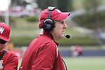 2012 Spring football at Washington State University, under new head football coach Mike Leach, culminates with the annual Crimson and Gray game, at Joe Albi stadium in Spokane, Washington, on Saturday, April 21, 2012.