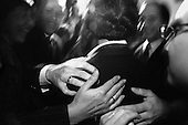 Warszawa 23 september - 24 october 2005 Poland<br /> The Fryderyk Chopin International Contest taking place every five years in Warsaw is the most prestigious musical event in the world. This year a record high number of contestants has applied - 257 musicians from 35 countries. <br /> ( &copy; Filip Cwik / Napo Images for Newsweek Polska )<br /> <br /> Warszawa 23 wrzesien - 24 pazdziernik 2005 Polska<br /> 15 Miedzynarodowy Konkurs Pianistyczny im. Fryderyka Chopina. Konkurs odbywa sie co piec lat i jest to najbardziej prestizowa impreza pianistyczna na swiecie. Nalezy do swiatowej elity wydarzen muzycznych. W tym roku na Konkurs zglosila sie rekordowa liczba uczestnikow - 257 muzykow z 35 krajow. <br /> nz Ogloszenie wynikow i finalisty konkursu. Zwyciezca zostal Rafal Blechacz ( Polska )<br /> ( &copy; Filip Cwik / Napo Images dla Newsweek Polska )