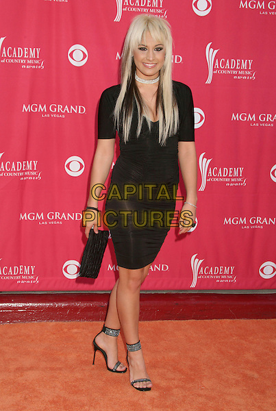 AUBREY COLLINS - TRICK PONY.42nd Annual Academy Of Country Music Awards held at the MGM Grand Garden Arena, Las Vegas, Nevada, USA..May 15th, 2007.full length black dress clutch purse .CAP/ADM/BP.©Byron Purvis/AdMedia/Capital Pictures