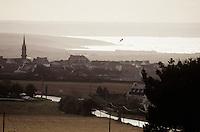 Europe/France/Bretagne/29/Finistère/Plomodiern: La ville et la baie de Douarnenez