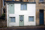 Unusual house on Julian Road, Bath, England