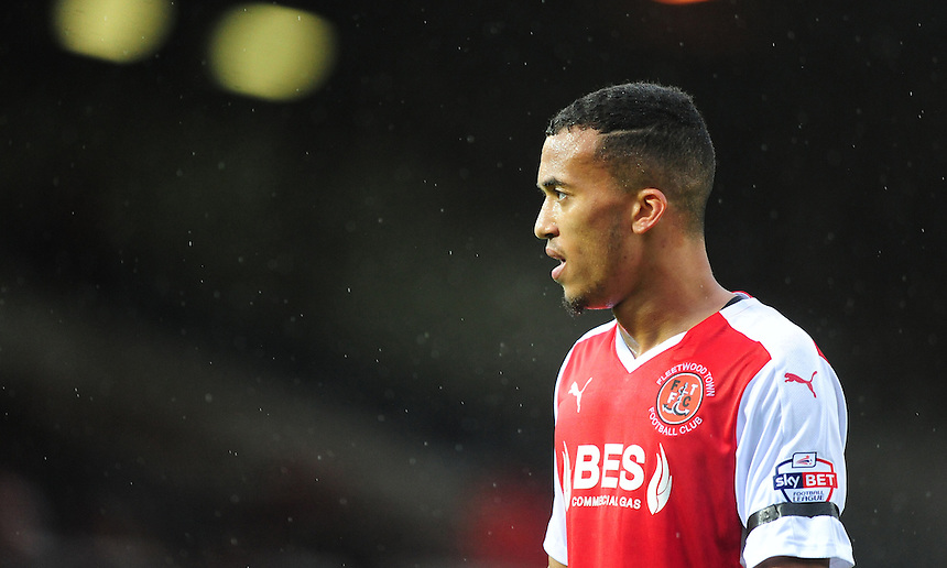Fleetwood Town&rsquo;s David Henen<br /> <br /> Photographer Chris Vaughan/CameraSport<br /> <br /> Football - The Football League Sky Bet League One - Peterborough United v Fleetwood Town - Saturday 14th November 2015 - ABAX Stadium - Peterborough<br /> <br /> &copy; CameraSport - 43 Linden Ave. Countesthorpe. Leicester. England. LE8 5PG - Tel: +44 (0) 116 277 4147 - admin@camerasport.com - www.camerasport.com