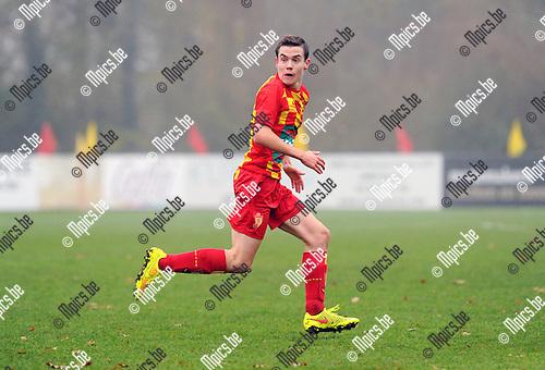 2014-11-30 / Voetbal / seizoen 2014-2015 / SV Bornem - Rupel-Boom / Thomas Braet<br /><br />Foto: mpics.be