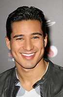 MARIO LOPEZ .At SWAGG VIP Kid Rock Concert at the Joint inside the Hard Rock Hotel and Casino, Las Vegas, Nevada, USA,.7th January 2010..portrait headshot grey gray black leather smiling .CAP/ADM/MJT.© MJT/AdMedia/Capital Pictures.