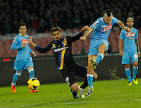 Marek Hamsik  during the Italian Serie A soccer match between SSC Napoli and Parma FC at San Paolo stadium in Naples