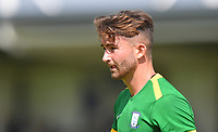 Preston North End's Sean Maguire<br /> <br /> Photographer Dave Howarth/CameraSport<br /> <br /> Football Pre-Season Friendly - AFC Flyde v Preston North End - Saturday July 13th 2019 - Mill Farm - Flyde<br /> <br /> World Copyright © 2019 CameraSport. All rights reserved. 43 Linden Ave. Countesthorpe. Leicester. England. LE8 5PG - Tel: +44 (0) 116 277 4147 - admin@camerasport.com - www.camerasport.com