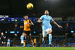 Gael Clichy of Manchester City in action - Manchester City vs Hull City - Capital One Cup - Etihad Stadium - Manchester - 01/12/2015 Pic Philip Oldham/SportImage
