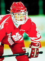 Hayley Wickenheiser Team Canada 1994. Photo copyright F. Scott Grant
