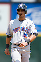 Fernando Martinez #3 of the Buffalo Bison at Knights Castle June 22, 2009 in Fort Mill, South Carolina. (Photo by Brian Westerholt / Four Seam Images)