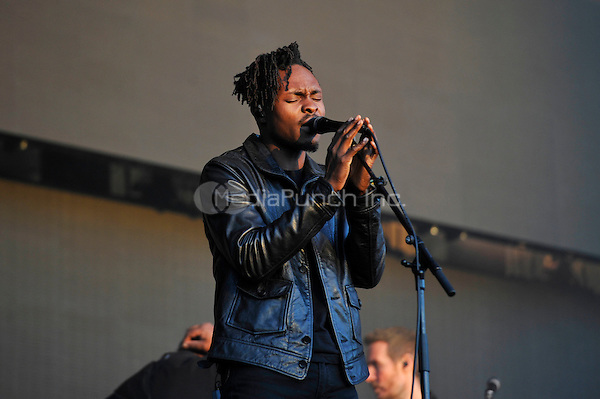 LONDON, ENGLAND - JULY1: Guest of 'Massive Attack' performing at British Summertime, Hyde Park on July 1, 2016 in London, England.<br /> CAP/MAR<br /> &copy;MAR/Capital Pictures /MediaPunch ***NORTH AND SOUTH AMERICAS ONLY***
