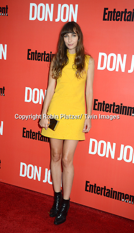 "Rebecca Dayan attends the ""Don Jon"" New York Movie Premiere on September 12, 2013 at the SVA Theatre in New York City."