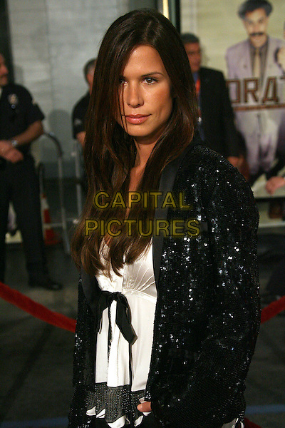 "RHONA MITRA.""Borat: Cultural Learnings of America for Make Benefit Glorious Nation of Kazakhstan"" World Premiere - Arrivals held at Mann's Chinese Theatre, Hollywood, California, USA..October 23rd, 2006.Ref: ADM/ZL.half length black jacket.www.capitalpictures.com.sales@capitalpictures.com.©Zach Lipp/AdMedia/Capital Pictures."